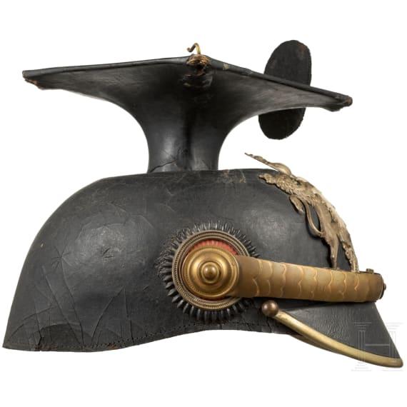 """Tschapka für Offiziere im Ulanen-Regiment """"König Wilhelm I."""" (2. Württembergisches) Nr. 20"""