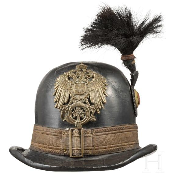 Hut für einen Postillon der Deutschen Reichspost in Waldeck, um 1890