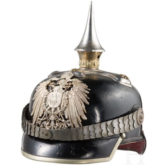 A helmet for officers in the colonies, general staff or commissariat