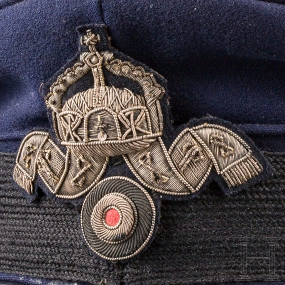 "A Navy Cap for ""Zahlmeisteraspiranten"", Germany, 1914"