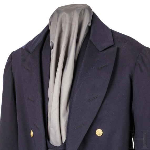 An evening suit owned by Captain Lieutenant Kurt Böcking