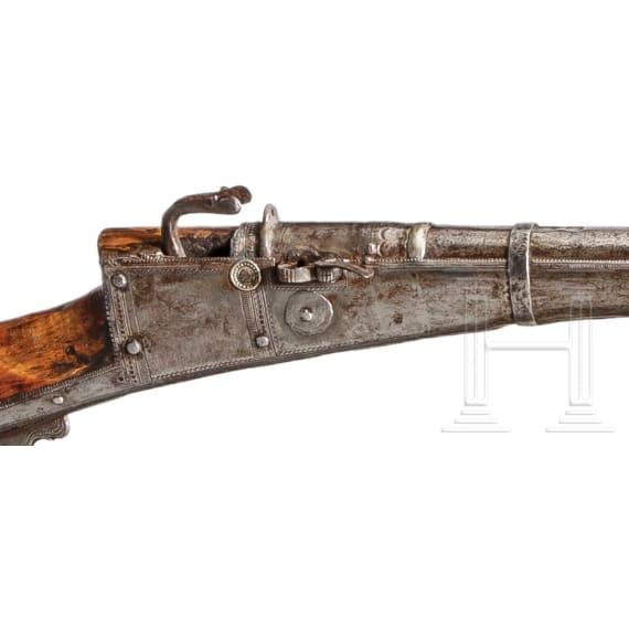 Luntenschlossgewehr, Indien, 18. Jhdt.