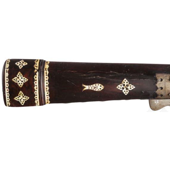 An Indian matchlock musket, circa 1800