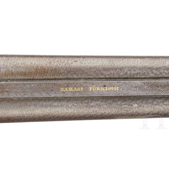 Stiftfeuer-Doppelflinte, Eibenstock