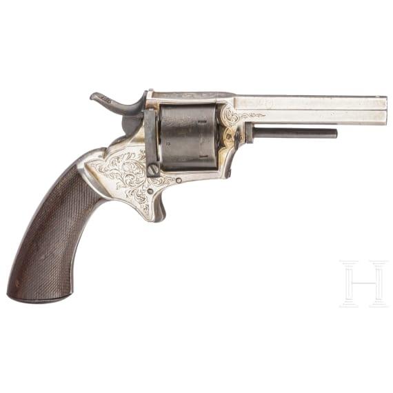 A rimfire revolver by E.M. Reilly & Co, circa 1880