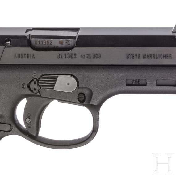 Steyr M 9, im Koffer, mit Anschlagschaft