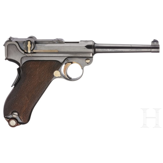 A Luger pistol Mod. 1900, 5th pattern, with wide trigger