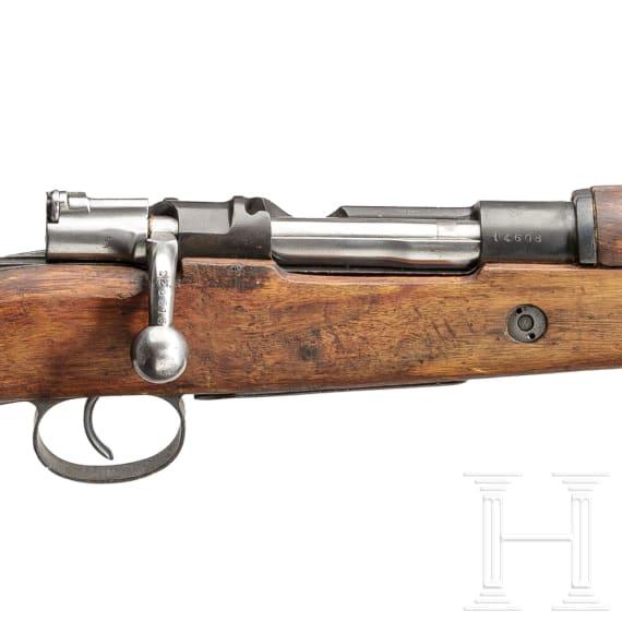 Kurzgewehr Mod. 1916, Falange Espanola und Bürgerkrieg