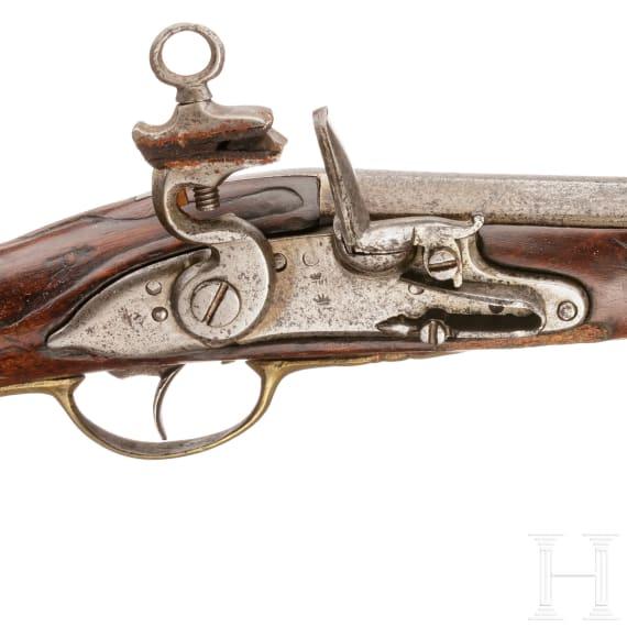 Kavallerie-Steinschlosspistole Mod. 1753, Fertigung 1781