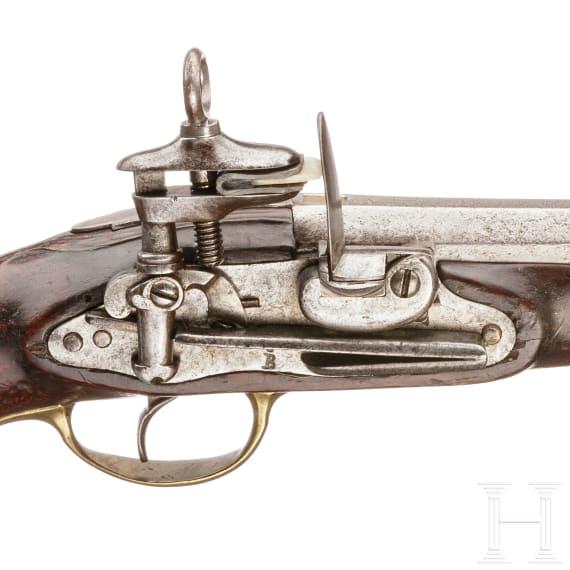 Steinschlosspistole Mod. 1753/89, Königliche Leibwache, Fertigung 1799