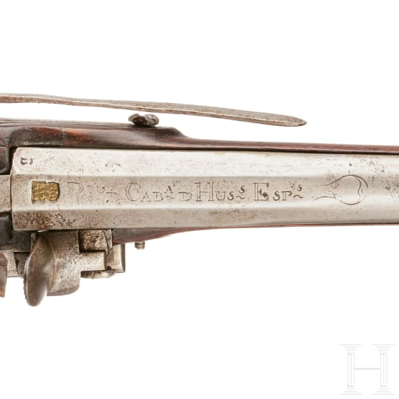 Steinschlosspistole für Husaren Mod. 1791, um 1800