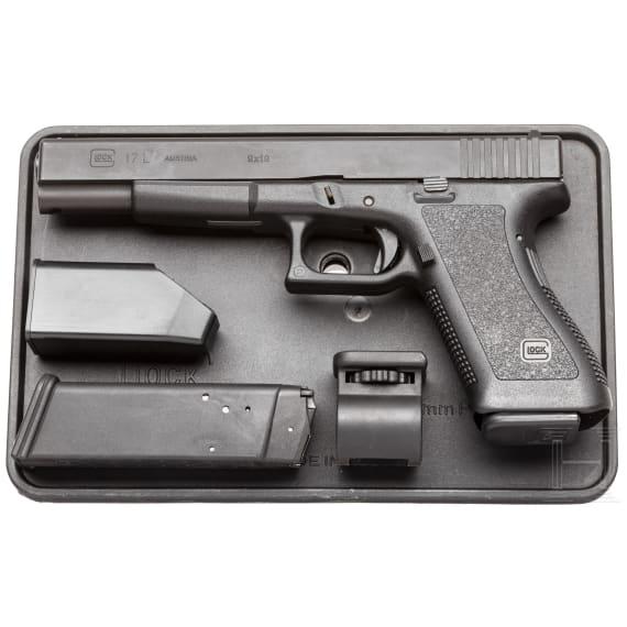 Glock Mod. 17 L, im Koffer