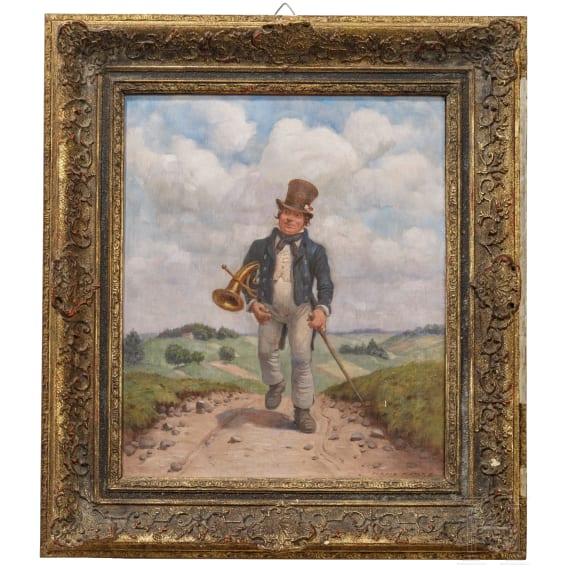 Hans Hanke (born 1923) - The Wandering Musician