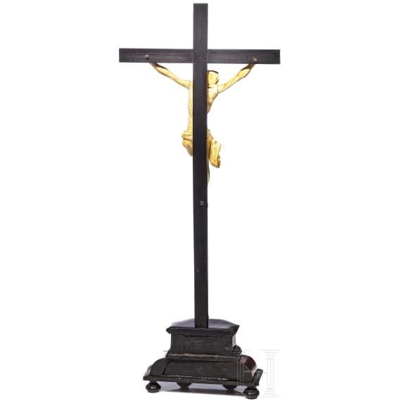A German crucifix, ivory, circa 1600
