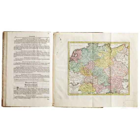 Lenglet du Fresnoy, Geography for Children (in German), 3rd Edition, G.P. Monath, Nuremberg, 1758