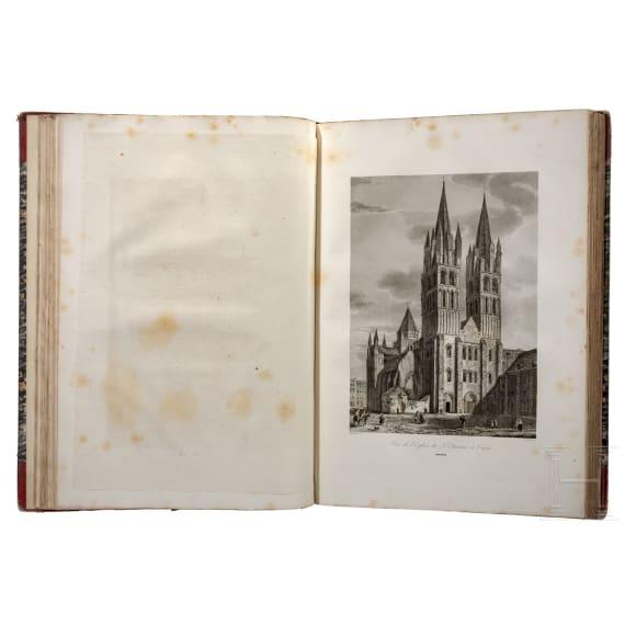 """""""The monuments of France"""" (transl.) by Alexandre de Laborde, Paris, 1816/1836"""