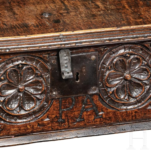A French bureau, 17th century