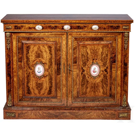 A luxurious French sideboard in Louis XVI style, 20th century