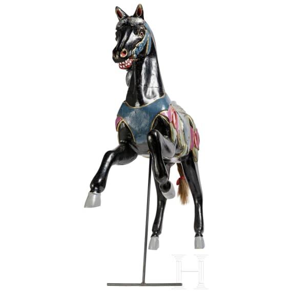A German merry-go-round horse, 20th century