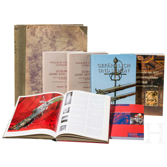 A small collection of catalogues for famous collections