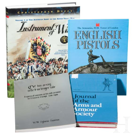 Four books on guns in English