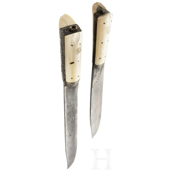 Two Cretan knives, 19th century