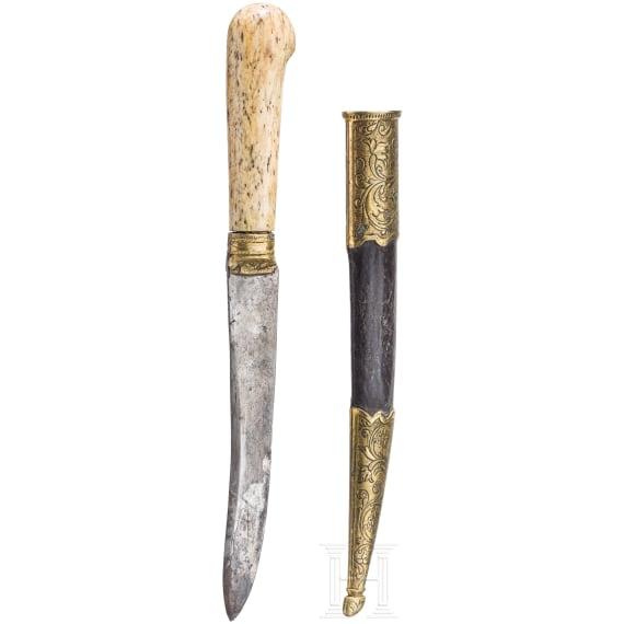 Messer, osmanisch, 19. Jhdt.