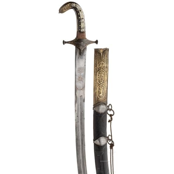 Shamshir, Persien, 19. Jhdt.