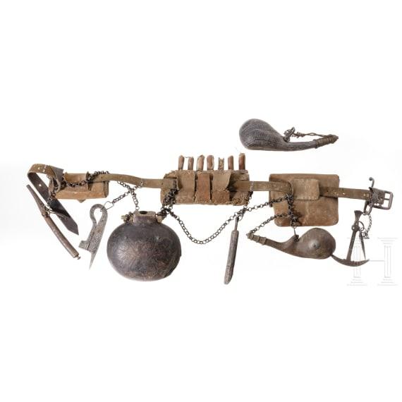 Waffengürtel, Afghanistan, 19. Jhdt.