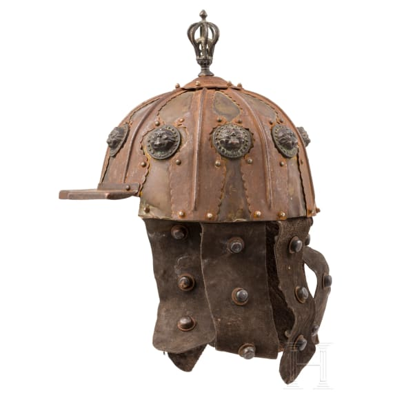 A Sino-Tibetan helmet, modern reproduction in the style of the 15th/16th century