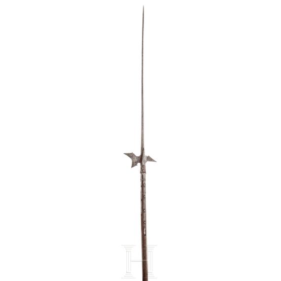 A German halberd, circa 1580