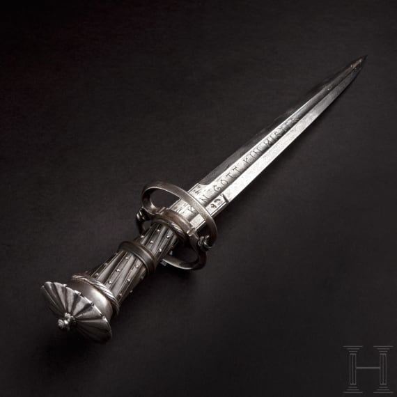 A German dagger of Landsknecht type, in the style of circa 1530