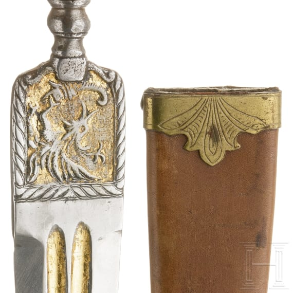 An Italian dagger, 19th century