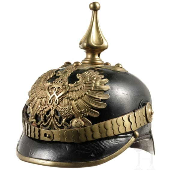 A helmet of the Prussian Gendarmerie, circa 1890
