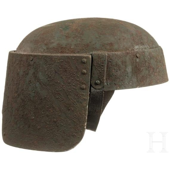 """An Italian steel helmet """"Farina"""", circa 1915"""