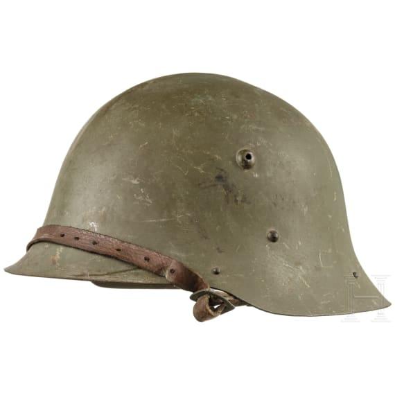 A Bulgarian steel helmet M 36, 1936 - 1945