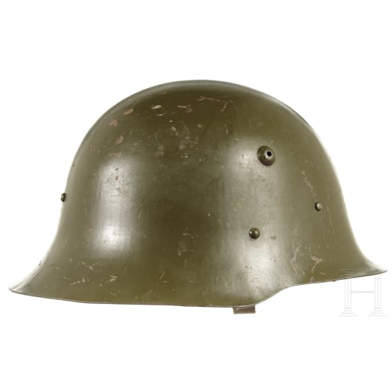 A Bulgarian steel helmet M 36, 1930s - 1940s