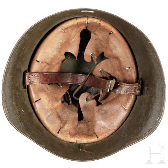 A Danish steel helmet M 23, 1930 - 1945
