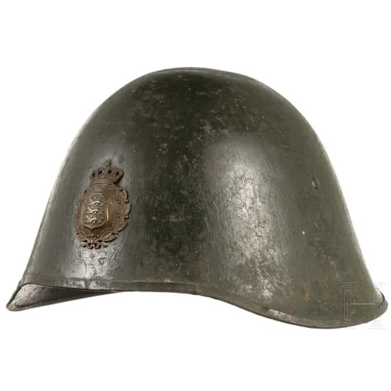 A Danish steel helmet M 23, 1930s onwards