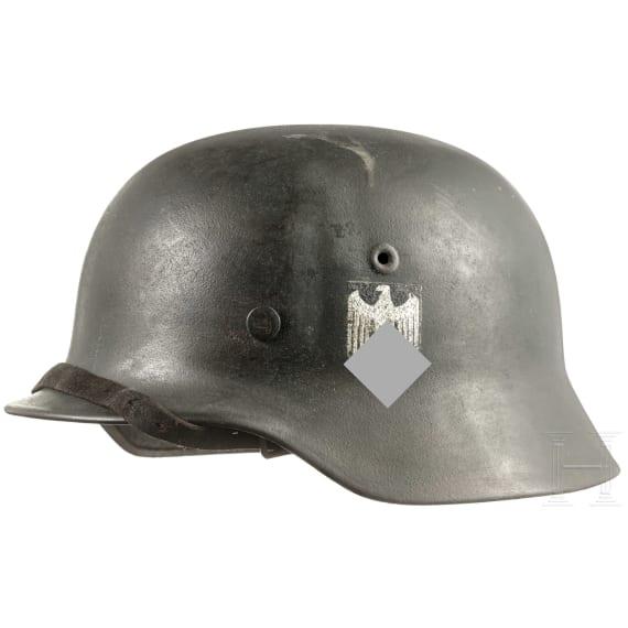 A German steel helmet M35/40, 1941 - 1945