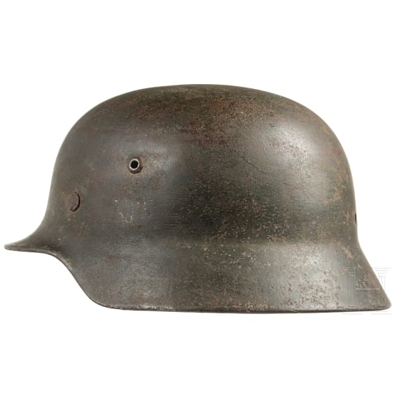 A German steel helmet M 35 of the police, 1935 - 1945