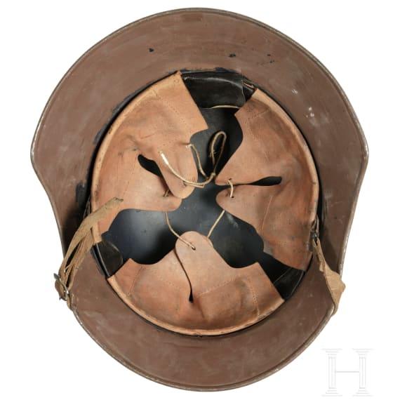 "A steel helmet ""Gladiator"" for air-raid protection, circa 1940"