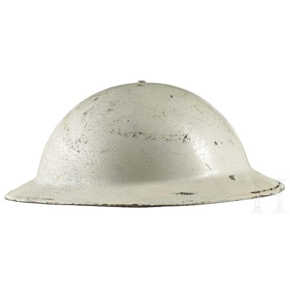 A British steel helmet Mk II, dated 1939