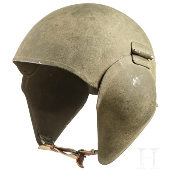 A US-American steel helmet M5 for bomber crews, 1940s