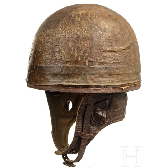 Two helmets of the western allies, 1940s