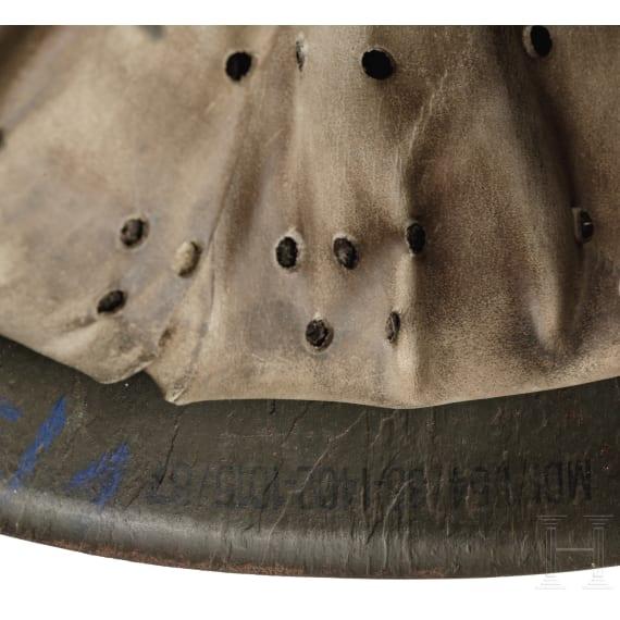 """A steel helmet M 54 (""""Kesslerbombe""""), 1950s"""