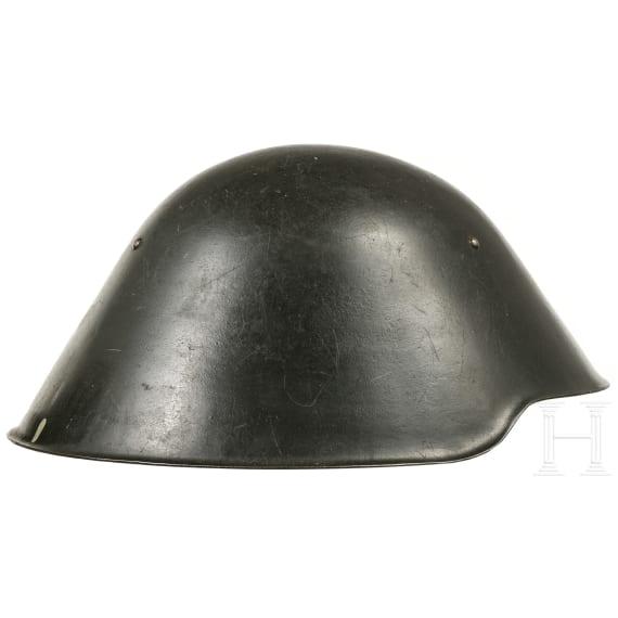 Four GDR helmets M 56, 1950s - 1980s
