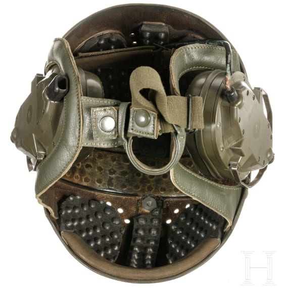 A helmet for tank drivers of the Bundeswehr, prototype, 1970s