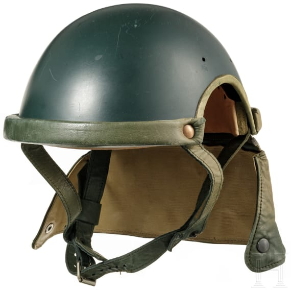 Two headgears for tank crews, 1950s - 1960s