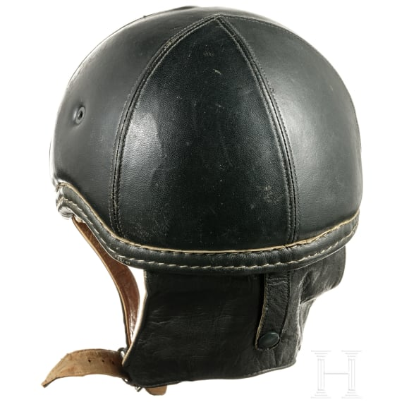 A leather helmet GSG 3, probably experimental model, 1950s - 70s